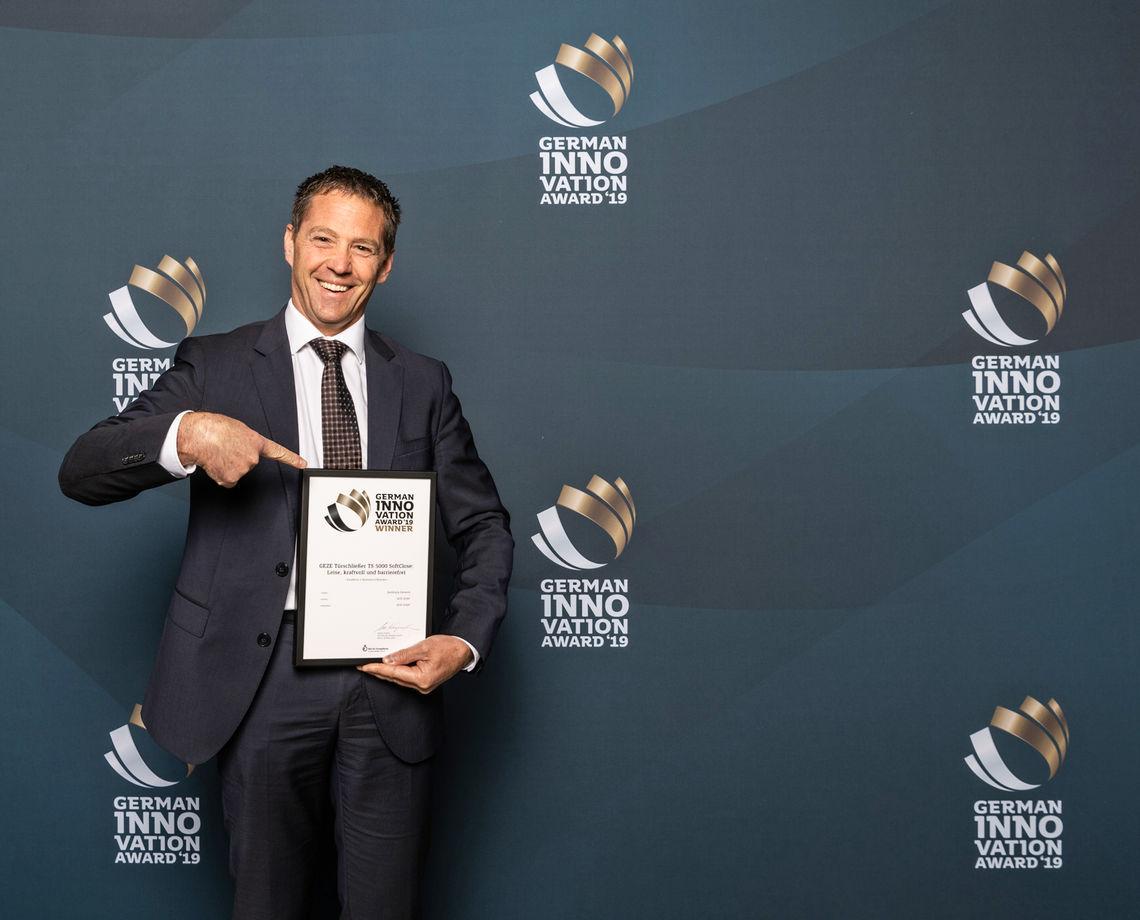 German Innovation Award 2019, TS 5000 SoftClose, Award, Verleihung