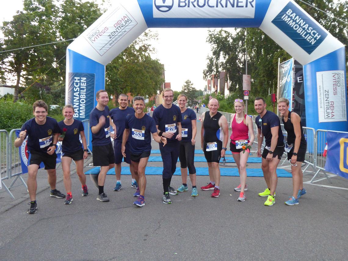 Top motiviert unser GEZE-Citylauf-Team. Foto: GEZE GmbH