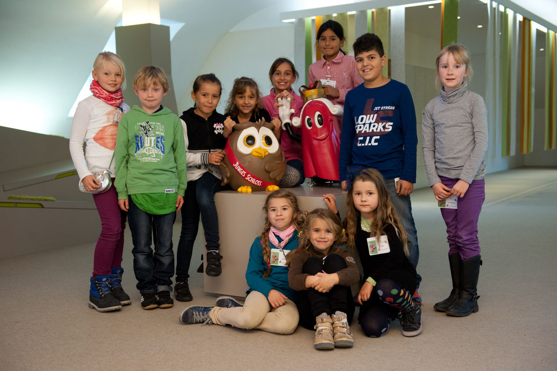 At the children's museum 'Young Castle' (Junges Schloss),