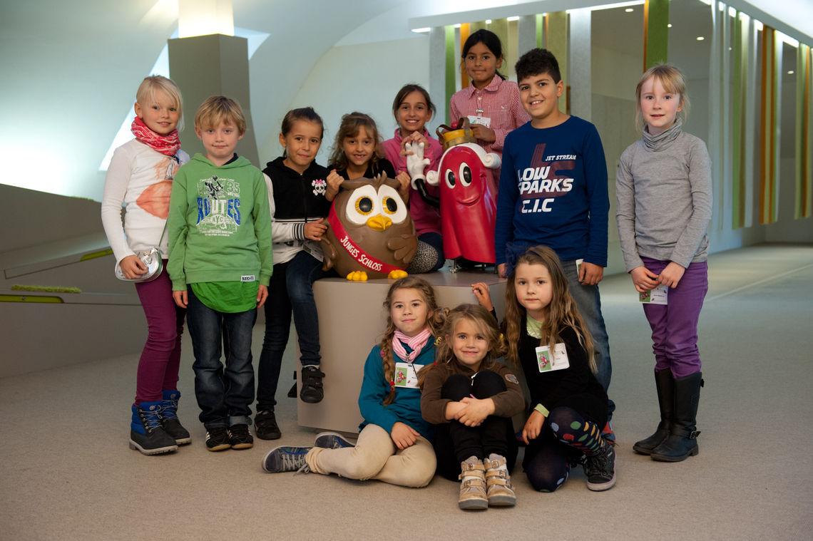 """Im Stuttgarter Kindermuseum """"Junges Schloss"""" dürfen"""