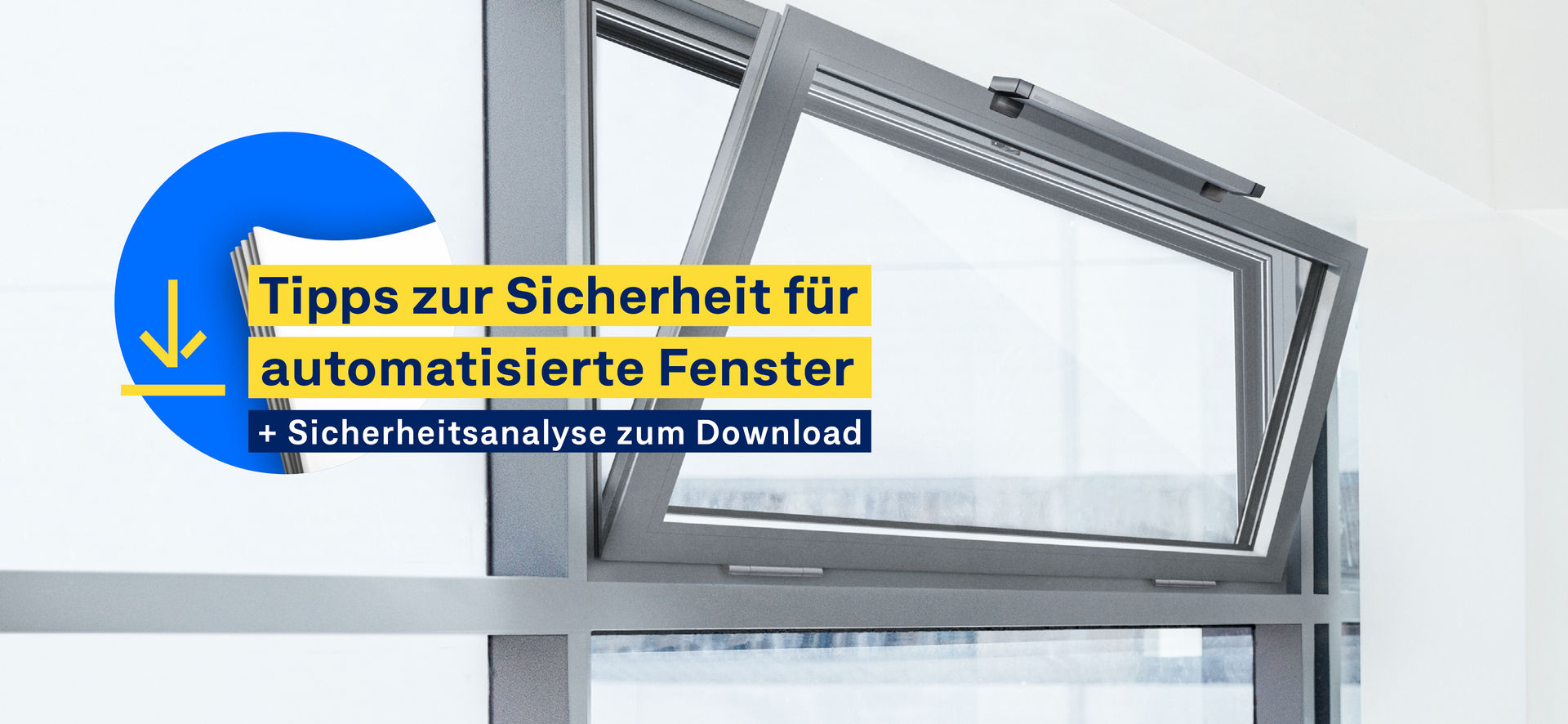 Führen Sie eine Risikoanalyse Ihres Fensters durch.