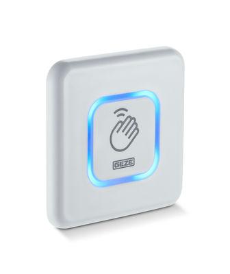GC 307+ hand, flush mounted, blue