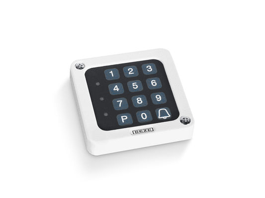 Toplock CTI Number code lock in the internal application, with integrated evaluating unit