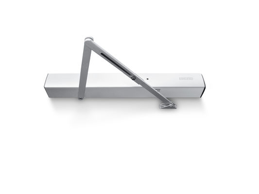 Door closer TS 4000 R Overhead door closer with electrohydraulic hold-open unit according to EN 1155, closing force size 1-6, with integrated smoke switch