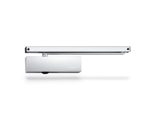 TS 3000 V overhead door closer with guide rail Can be installed on right and left single-action doors/fire and smoke protection doors.