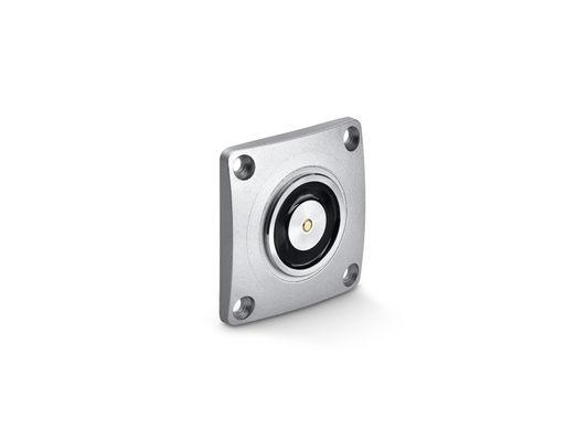 Hold-open magnet flush mounting Hold-open magnet flush mounting