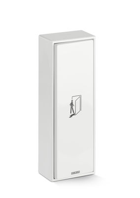 Elbow switch LS990, white, surface mounting Activation device for automatic revolving, sliding, folding and curved sliding doors