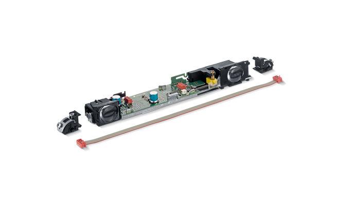 GC 335 Kit de extindere Kit de extensie GC 335 GEZE pentru bară cu senzor de siguranță cu un modul slave, cablu de îmbinare și lagăr pentru clipsuri