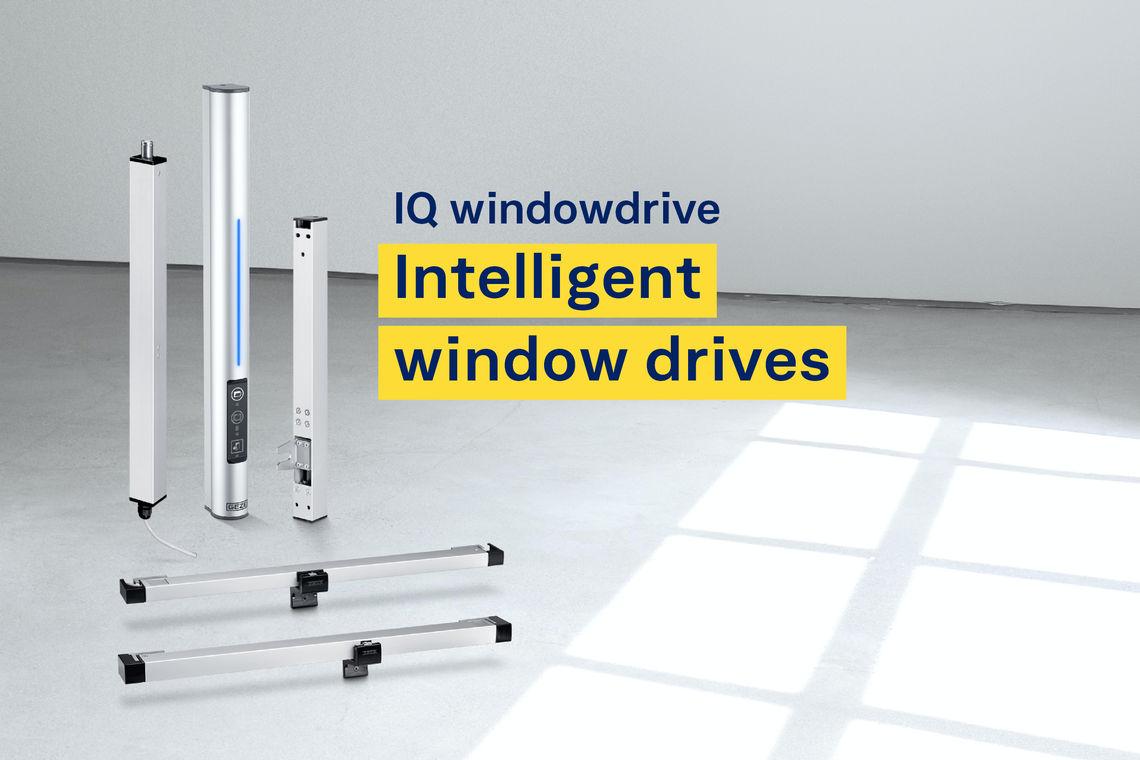 У багатьох будівлях приводи для електроприводних вікон відіграють ключову роль у концепції вентиляції та димо- і тепловідведення. Приводи склопідйомників серії IQ windowdrive є ідеальним рішенням для обох режимів роботи.