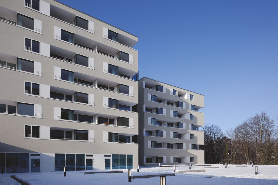 The Stuttgart retirement home combines discerning architecture with stringent fire safety and comfort requirements -  with the help of GEZE door systems and safety technology.