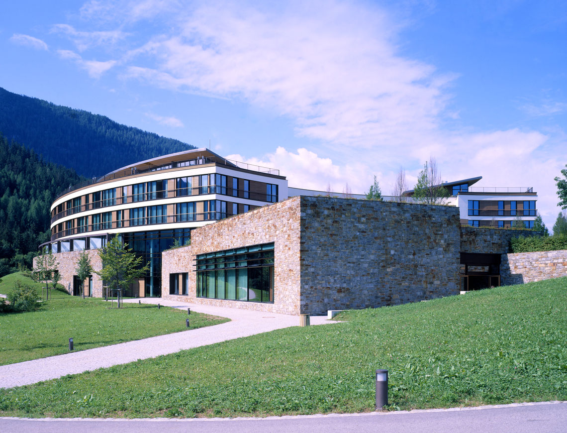Luxurious atmosphere: the Berchtesgaden Kempinski Hotel.