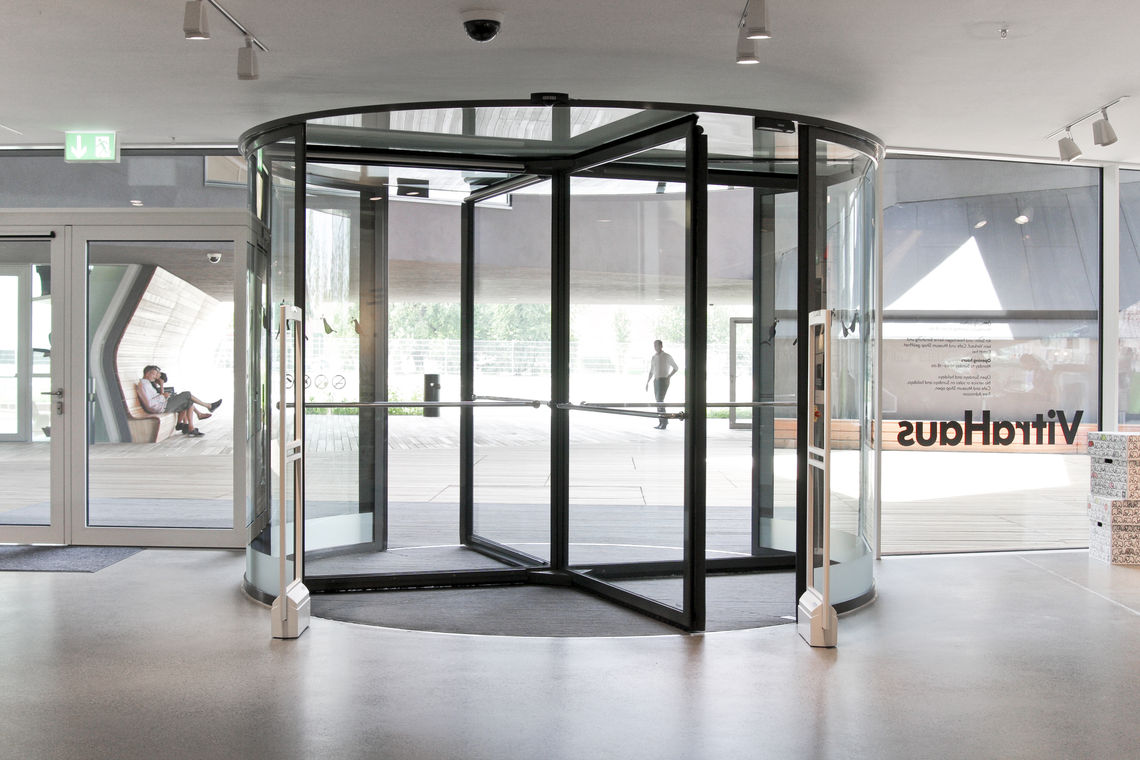 The stipulations placed on revolving doors are highly complex, soit can be difficult to find the right solution. We can help you select the right GEZE revolving door for your needs.