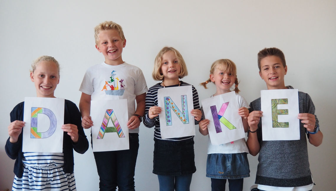 GEZE is passionately committed to providing financial support for the charitable 'Olgäle-Stiftung für das kranke Kind e.V.' (Olgäle Foundation for sick children) – for many years now GEZE has helped the foundation through its regular donations.