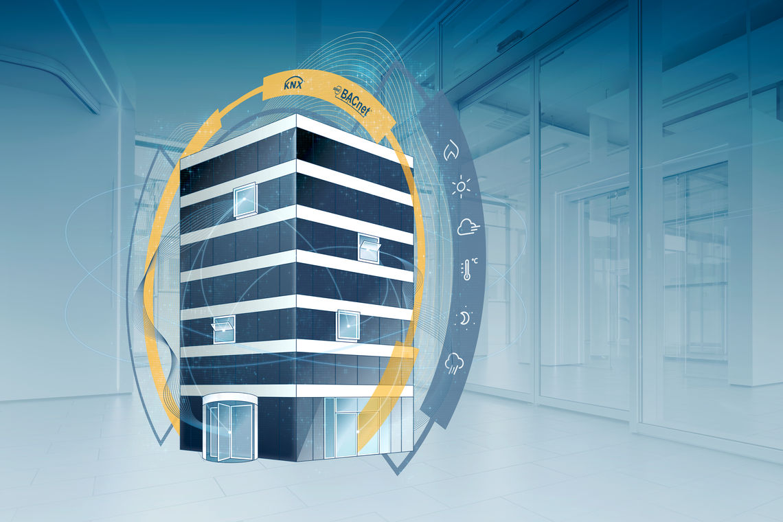 Increasing comfort in our working and living environments, operating buildings efficiently, safely and sustainably: digital control and automation technologies are making buildings 'smart'.