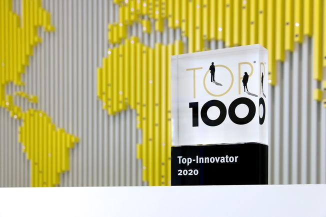 GEZE ist TOP 100 Innovator