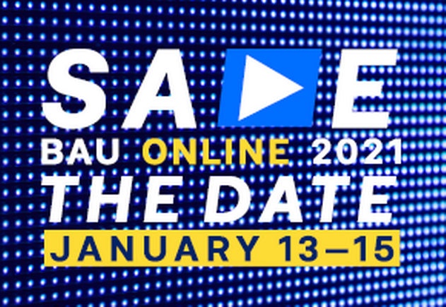 Save the Date: BAU Online 2021