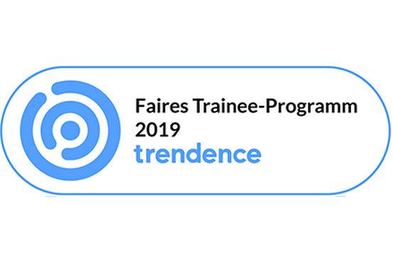 """Beste Noten für die Nachwuchs-Förderung: Das GEZE Trainee-Programm wurde erneut mit dem Label """"Faires Trainee-Programm 2019"""" ausgezeichnet."""