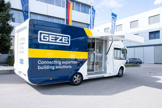 Showmobilul GEZE