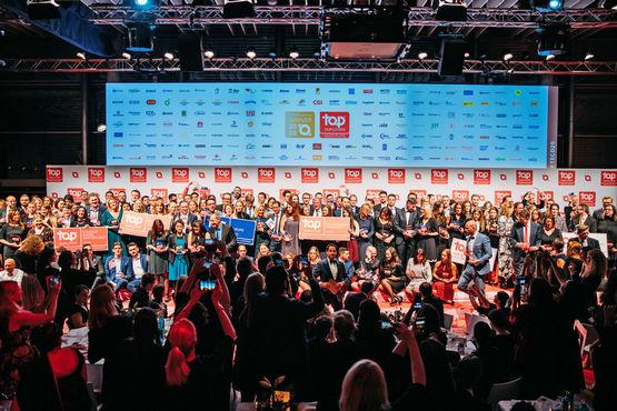 Über 1600 Top Employer in 119 Ländern und Regionen auf fünf Kontinenten wurden in diesem Jahr identifiziert und ausgezeichnet.