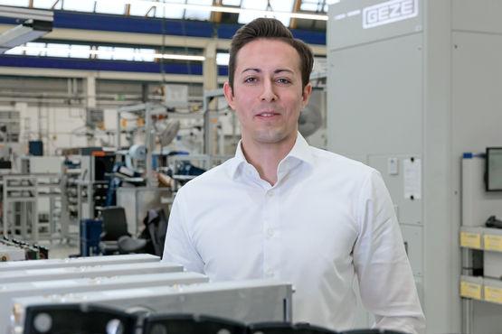 Philipp Stahlkopf, Trainee Engineering bei GEZE