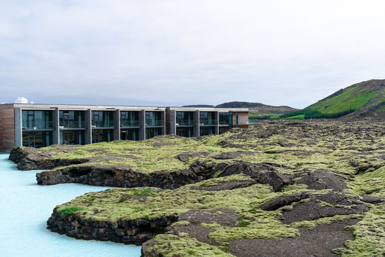 Striking architecture in a striking landscape: The Retreat at the Blue Lagoon in Iceland.