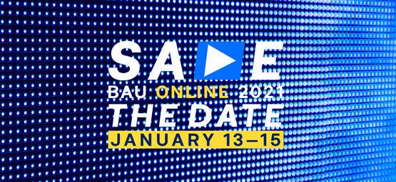 GEZE auf der BAU Online 13.01. - 15.01.2021