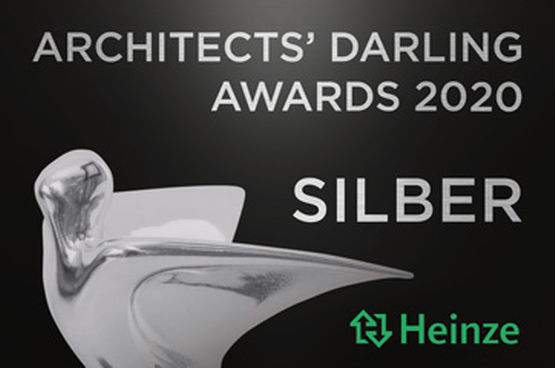 Around 1,900 architects and planners again recognised GEZE's door technology with an  Architects' Darling Award in 2020.