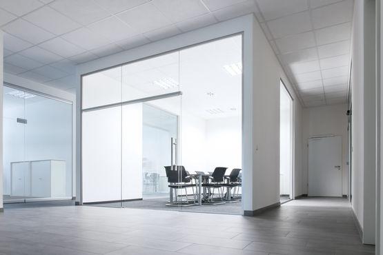 GEZE Levolan 120 schuifbeslagsysteem voor glazen deuren