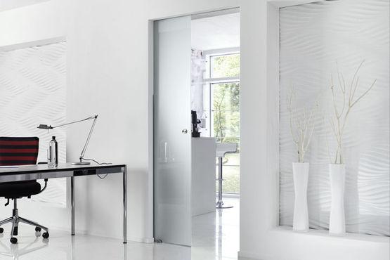 GEZE rollenschuifbeslagsysteem Rollan 40 N/80 voor glazen deuren