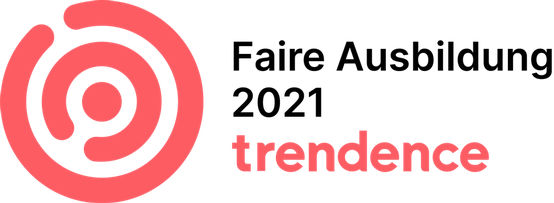 Fair Apprenticeship 2021 seal of approval from Trendence for the GEZE apprenticeship programme
