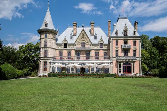 Beeindruckendes Schloss Schadau in Thun