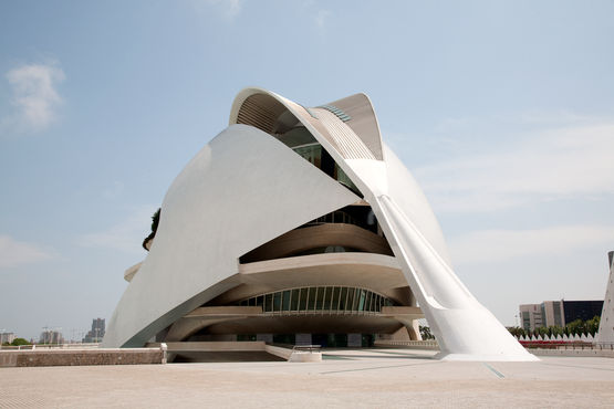 Palacio de las Artes Reina Sofia, Valencia, Spanien