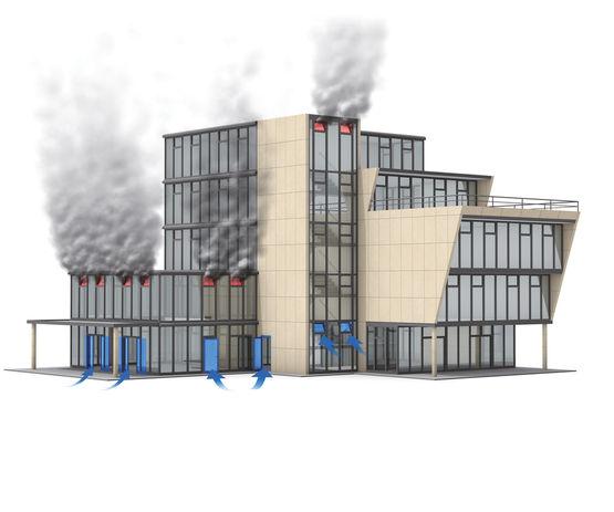 आग लगने की स्थिति में कमरे तेज़ी से जहरीले धुएं से भर सकते हैं।