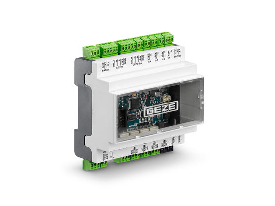 BACnet MS/TP interface module for connecting GEZE products to the building management system