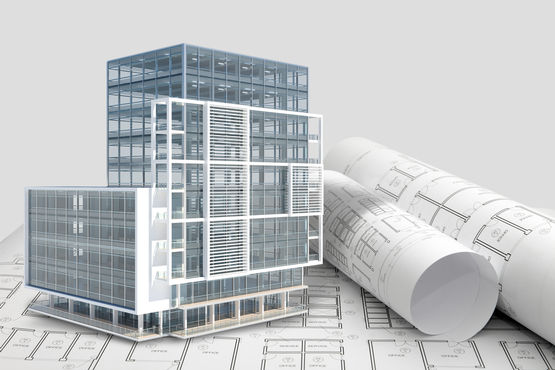 Mit BIM werden komplexe Bauvorhaben kostengünstiger und effizienter.