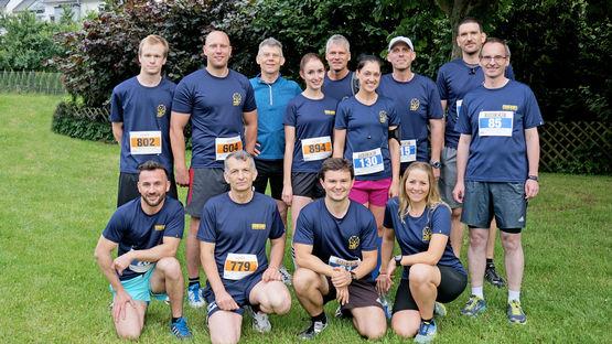 Die Laufgruppe von GEZE. Foto: GEZE GmbH