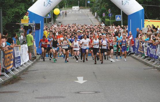 Spannender Wettkampf und schnelle Laufzeiten beim GEZE 10-Kilometer-Lauf