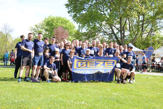 GEZE runs for a good cause