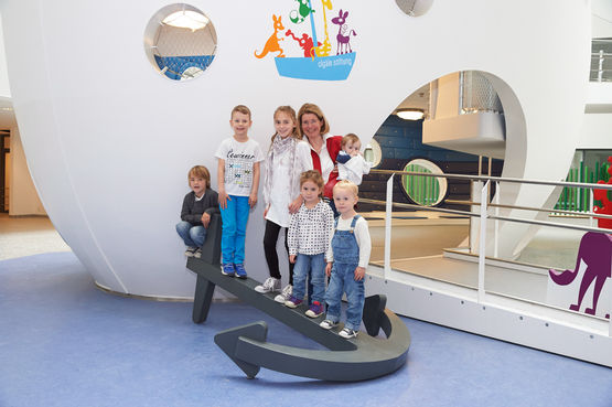 The Olga hospital children's clinic is one of the most modern paediatric centres in Europe.