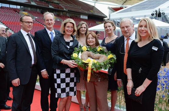 Brigitte Vöster-Alber unterstützt die Olgäle-Stiftung seit vielen Jahren.