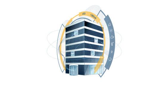 Vernetzte Lösungen von GEZE für intelligente Fassaden