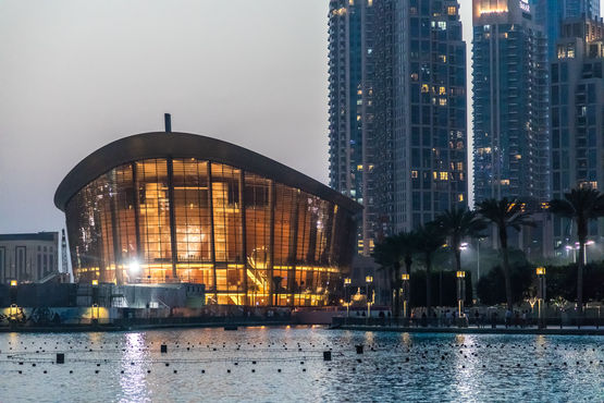 Example from the region: Dubai Opera with GEZE door solutions