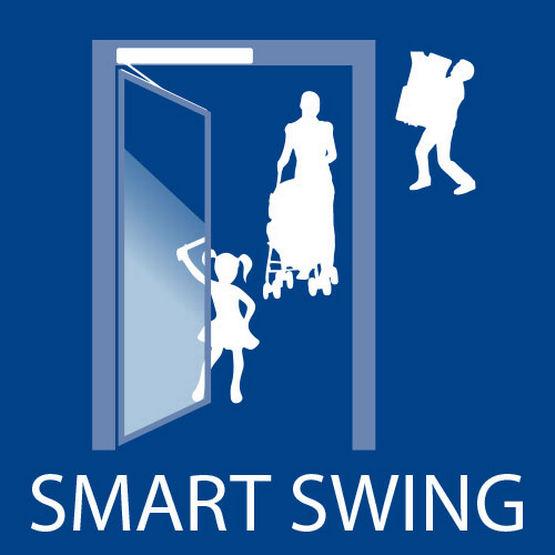 Ikonet Smart swing-funksjon