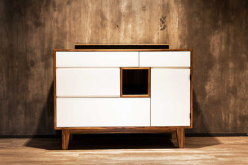 Slimchain, sideboard, masterpiece, carpenter, assembly example,
