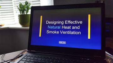 Wärme- und Rauchbelüftung,Schulungen Architekten,Schulung,Architekten,RWA