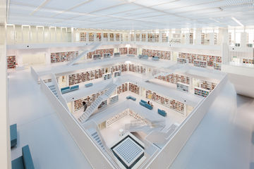 Accessibility for the Stuttgart city library