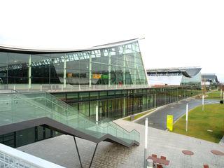 Außenansicht neue Messe Stuttgart.