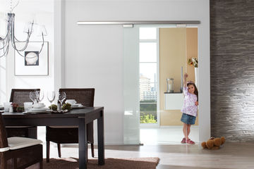 GEZE room partitioning delivers provides variety, design and functionality