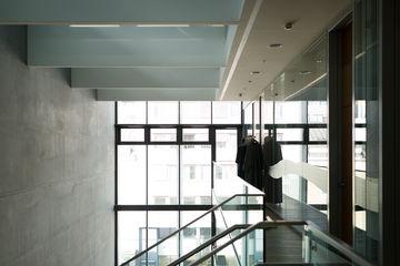 Slimdrive SL-BO, Music theatre Linz, Austria, staircase