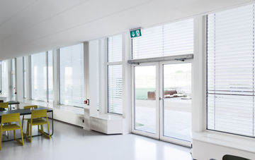 The Powerturn swing door drive combines accessibility and functional diversity